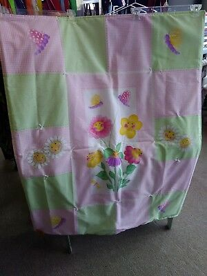 Butterfly baby toddler kids quilt