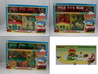 6 x Orbital train set 3 assorted bulk wholesale lot reduced to clear