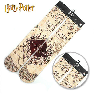 "4*16"" Harry Potter Mens Womens Socks Tights Cotton Stockings Cosplay Cute Gifts"