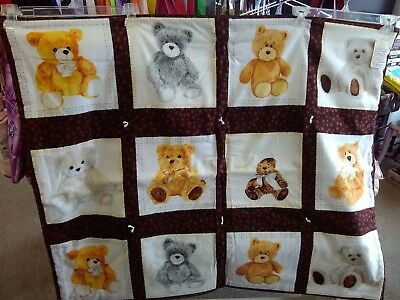 Tedy Bears Baby toddler kids quilt