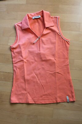 tolles Golf-Polo Shirt der Fa. Pro Ace, orange, Gr. 38, guter Zustand!
