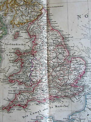 SCOTLAND BRITISH ISLES U K  1808 scarce Dublin made old map original