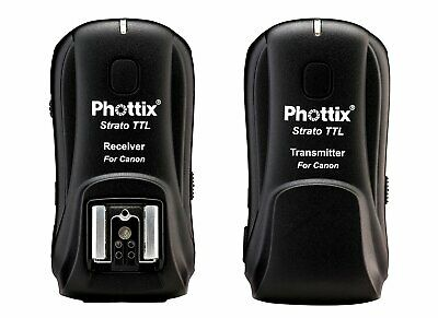 Phottix Strato TTL Wireless Flash Trigger Set for Canon Transmitter and Receiver
