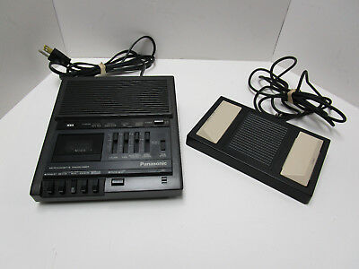 Panasonic Microcassette Transcriber   Rr-930  No Headset   Tested & Works Well