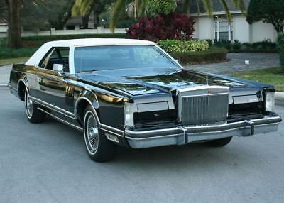 1978 Lincoln Mark Series MARK V - CARRIAGE ROOF - 31K MI CARRIAGE ROOF SURVIVOR - 1978 Lincoln Mark V Coupe -  31K ORIG MI