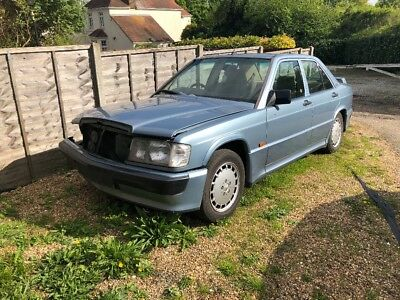 mercedes 190E (damaged) unrecorded damage with cosworth body kit