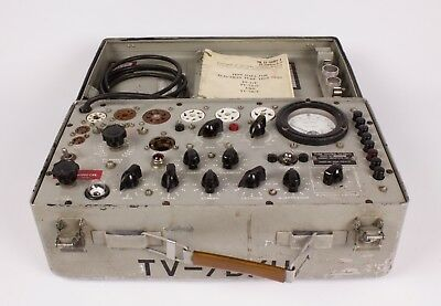 Forway Industries Inc. TV-7B/U Tube Tester NOT CALIBRATED.
