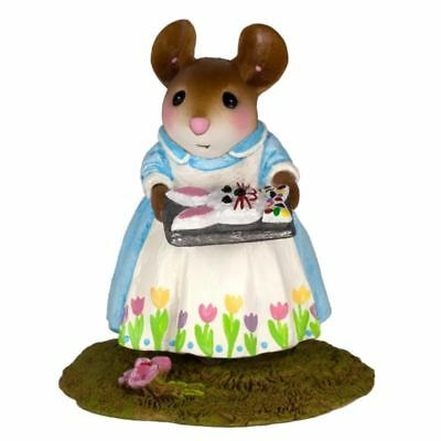 MOM'S EASTER BUNNY CAKE Wee Forest Folk M-570A  RETIRED WFF