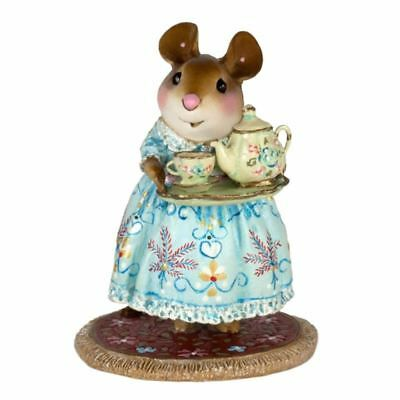 COSY TEA WINTER M 594B NUMBERED LIMITED ED. #49 OF 300 Wee Forest Folk
