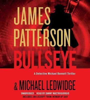 BULLSEYE Audio Book on Unabridged CDs by JAMES PATTERSON Brand New & Sealed