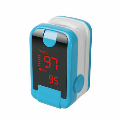 OLED Fingertip Pulse Oximeter Heart Rate Monitor Oxygen Saturagtion Hemoglobin