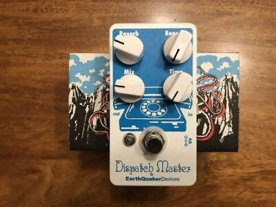 EarthQuaker Devices Dispatch Master Delay/Reverb Pedal (Barely Used)