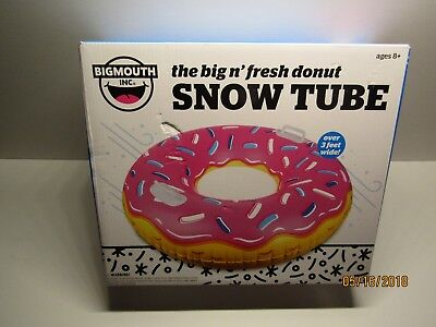 The Big n' Fresh Donut Snow Tube By: BigMouth Inc. - Pink