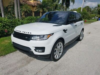2016 Land Rover Range Rover Sport DYNAMIC SUPERCHARGED 2016 LAND ROVER RANGE ROVER SPORT DYNAMIC SUPERCHARGED