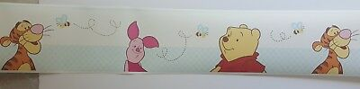 New Disney Wall Border Winnie The Pooh Nursery Pre Pasted 30 Feet Tigger Piglet