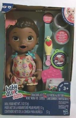 NEW Baby Alive Super Snacks Snackin' Lily African American Doll