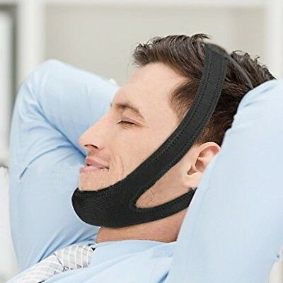 Dreamerd Snore Chin Strap,Adjustable Anti-Snoring Jaw Chin Strap Stop Snoring St