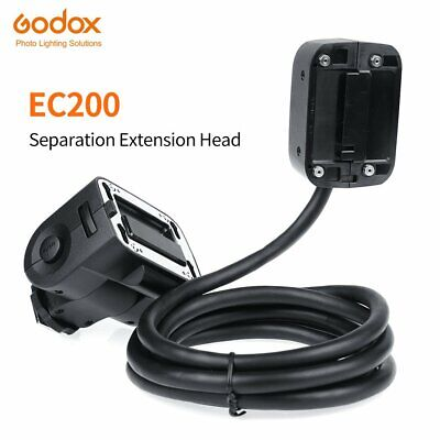 Godox EC200 1.85m Hot shoe Remote Separation Extension Head fr Godox AD200 Flash
