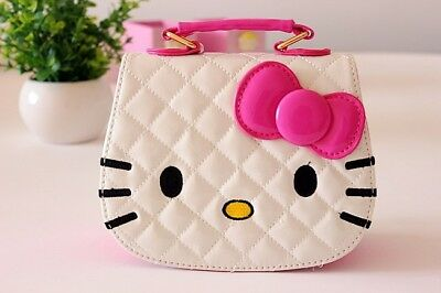 Hello Kitty Gift Girls Leather Handbags Purse Shoulder Bags for Kids Children