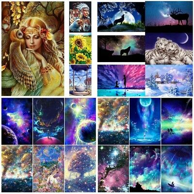 DIY 5D Full Drill Diamond Embroidery Painting Cross Stitch Kit Craft Home Decor