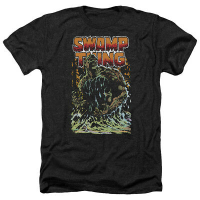 SWAMP THING Classic Comic Cover Vintage Style Heather T-Shirt All Sizes