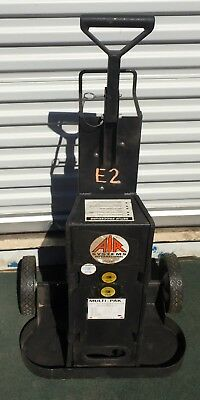 Air Systems MULTI-PAK™ 2 Cylinder Rescue Cart 4500 PSI 4 Outlets SCBA tanks MROD