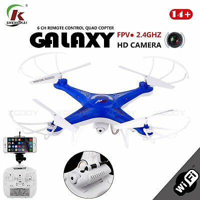 D97 RC Quadcopter with WIFI FPV HD Camera 4CH 2.4G 6 Axis camera Drone