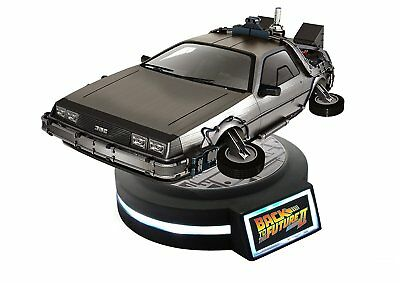 Back to The Future Part II 1/20 Magnetic Floating Figure DeLorean Time Machine