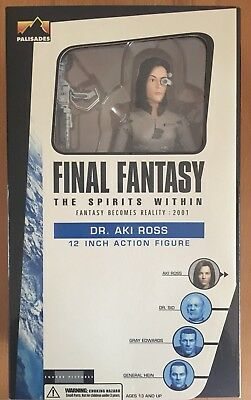 FINAL FANTASY - DR. AKI ROSS - 12 inch - Palisades - MIB - 2001
