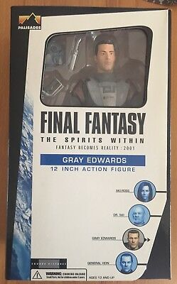 FINAL FANTASY - GRAY EDWARDS - 12 inch - Palisades - MIB - 2001