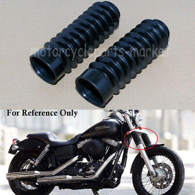 Biker/'s Choice 49mm Fork Boots for Harley Dyna 49mm Front Retro