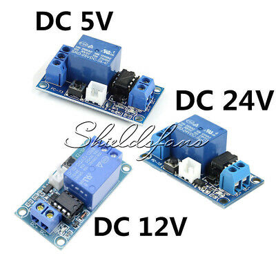 DC 5V 12V 24V 1-Channel Latching Relay Module with MCU Touch Bistable Switch