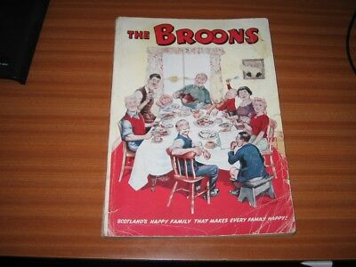 The Broons Annual 1952 Very Rare Early Example D C Thomson