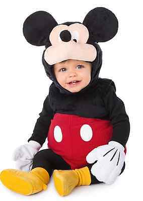 AUTHENTIC DISNEY Mickey Mouse Costume for Baby 6-12 months NEW