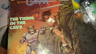 vintage Conan The Thing in the cave book