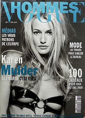 VOGUE HOMBRES 1995: KAREN MULDER_JAMES BOND from Un A Z_RICARDO BOFILL_INDRA