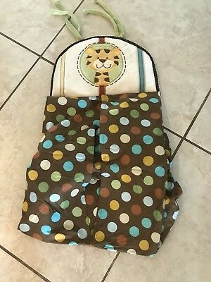 Nojo Jungle Tales Giraffe Diaper Holder/Stacker