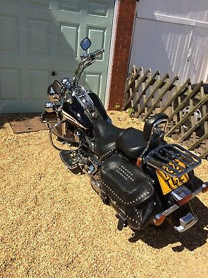 2001 FLSTC Heritage Softail Classic 1450cc (Fuel Injection)
