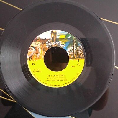 The Latin Brothers ‎– El Carretero / Sobre Las Olas ## COLOMBIA SALSA 45 SINGLE