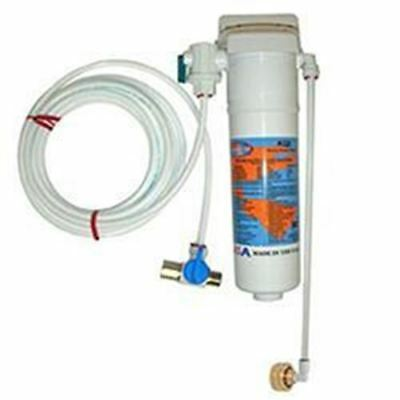 """Omnipure Coffee Brewer Water Filter Kit, KQ8 Cartridge, 3/4"""" FGH Connection"""