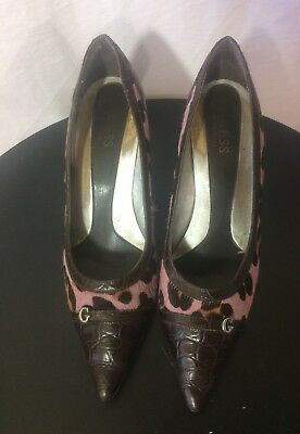 0ab87826812b6 chaussures escarpins cuir Guess by Marciano pointure 39 TBe (B10)