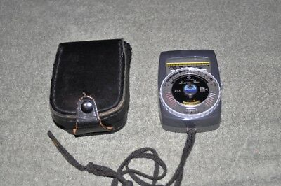 Gossen Luna-Pro Exposure Meter. Made in Germany. Tested and working.