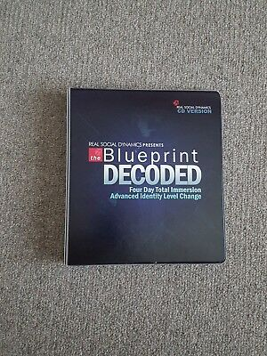 Real social dynamics the blueprint decoded 20 cds 34995 real social dynamics the blueprint decoded 20 cds malvernweather Choice Image