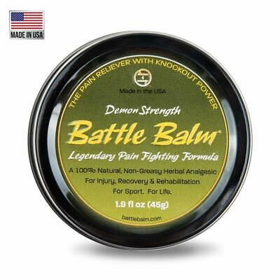 Demon Strength Pain Relief (2-ounce) - Battle Balm | All-Natural and Organic