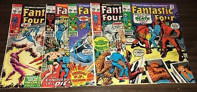 FANTASTIC FOUR -- #101 102 103 104 to 139 -- HUGE Lot of 38 Bronze Age Issues