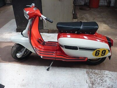 Lambretta Scooter GP150 1969  INNOCENTI Grand Prix 150