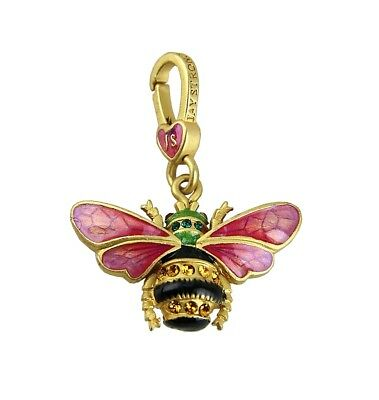 Jay Strongwater Charming Muriel Bouquet Bee Charm Swarovski Box Usa Sj9192289