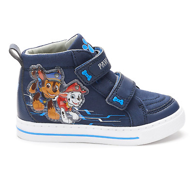 Boys Toddler Child Sneakers Paw Patrol Chase Marshall 7 8 9 10 11 or 12 Hi Top