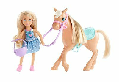 Barbie DYL42 Club Chelsea Dolls and Horse Doll