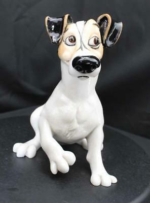 Jack The Jack Russell - Comical Figurine - New From Gallery - (20978)